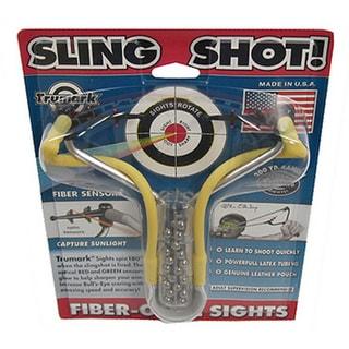 Fiber-Optic Sights No Wrist-Brace Slingshot