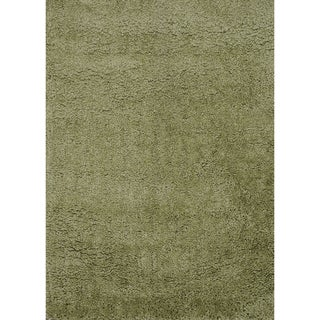 Hand-tufted Hedwig Green Rug (3'6 x 5'6)