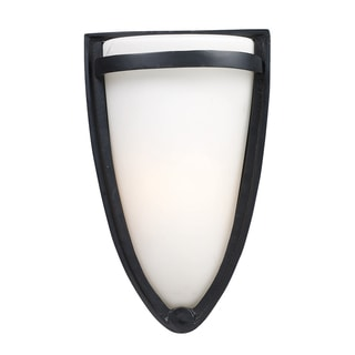 Elk Lighting Gilsella 1-Light Outdoor Wall Mount In Matte Black
