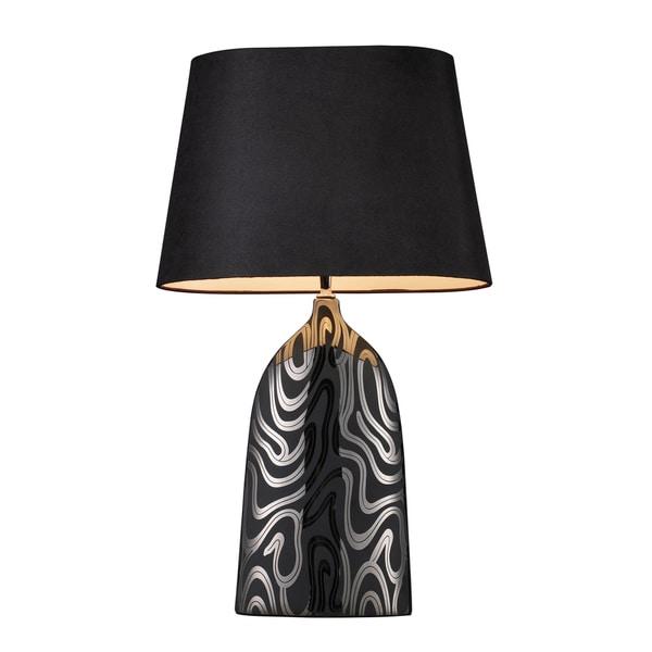 Elk Lighting Black Finish 1-light Table Lamp