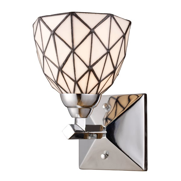 Landmark Lighting Tetra 1-Light Polished Chrome Vanity