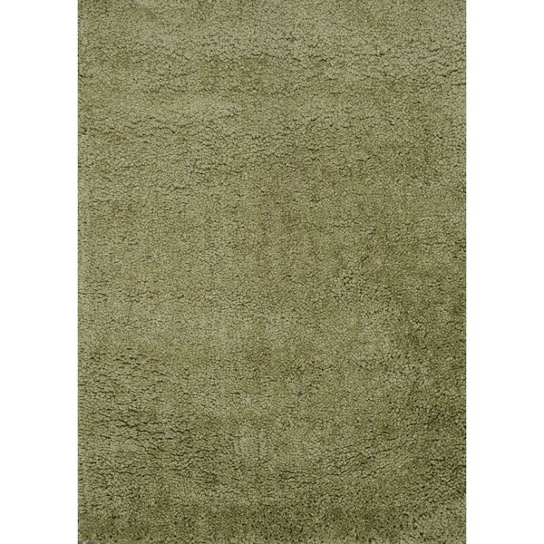 Hand-tufted Hedwig Green Rug (7'6 x 9'6)