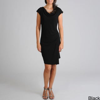 Sharagano Women's AM/PM Rouching Dress