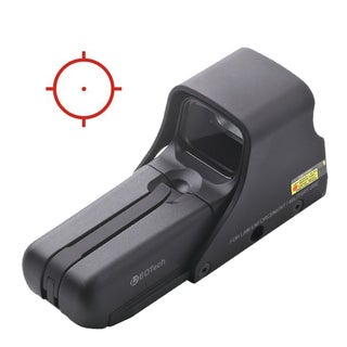 EOTech Model 552 Night Vision Compatible Military Holographic Weapon Sight