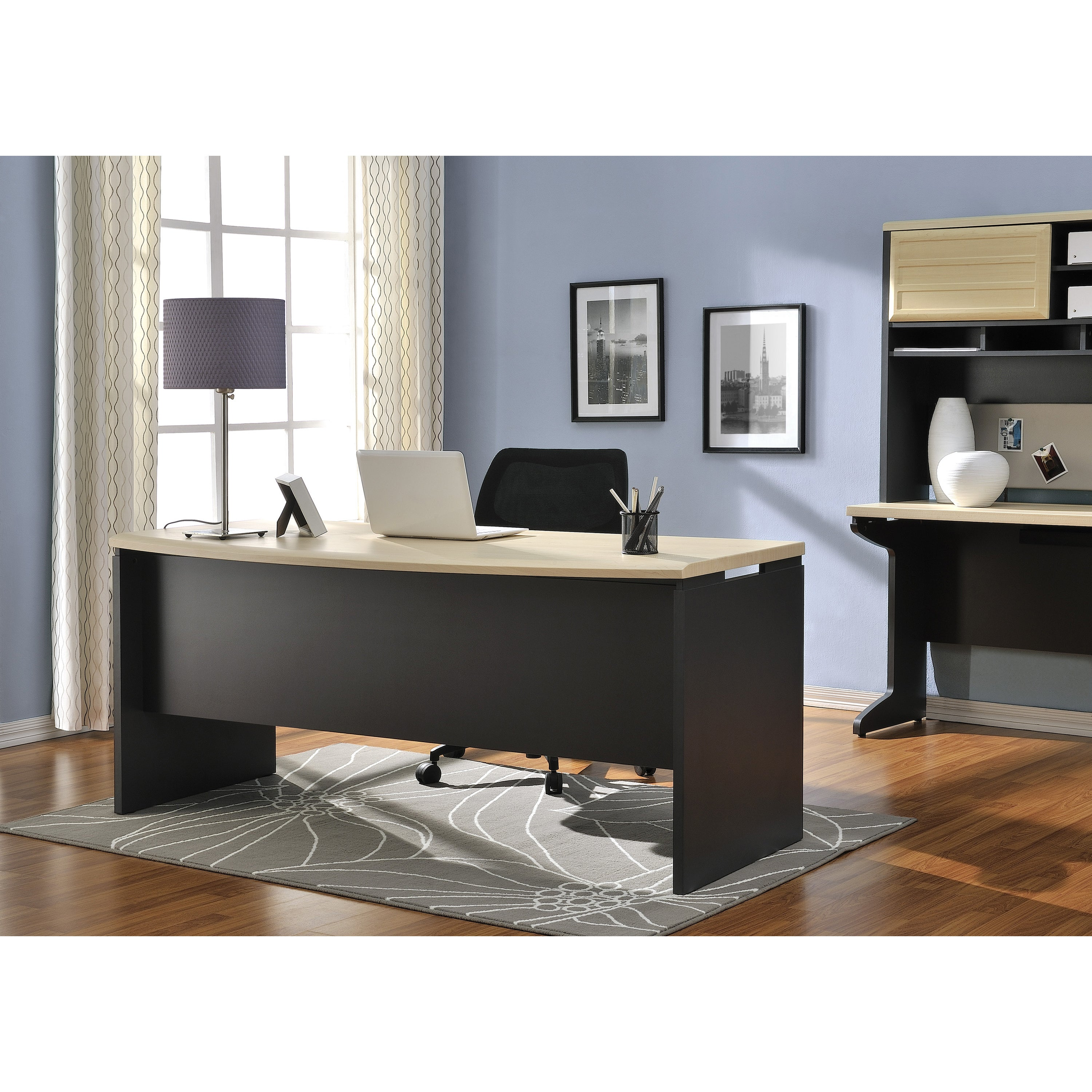 Details about Executive Office Desk Computer Business Furniture Large