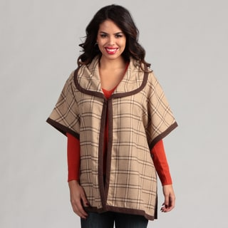 Live A Little Women's Bound Edge Cape