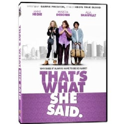 That's What She Said (DVD)