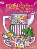 Fanciful Fairies and Dazzling Dragons Coloring Book (Paperback)