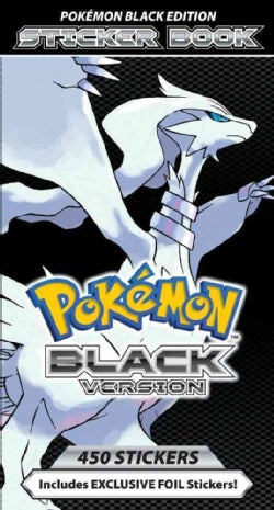 Pokemon Black Version Sticker Book (Paperback)