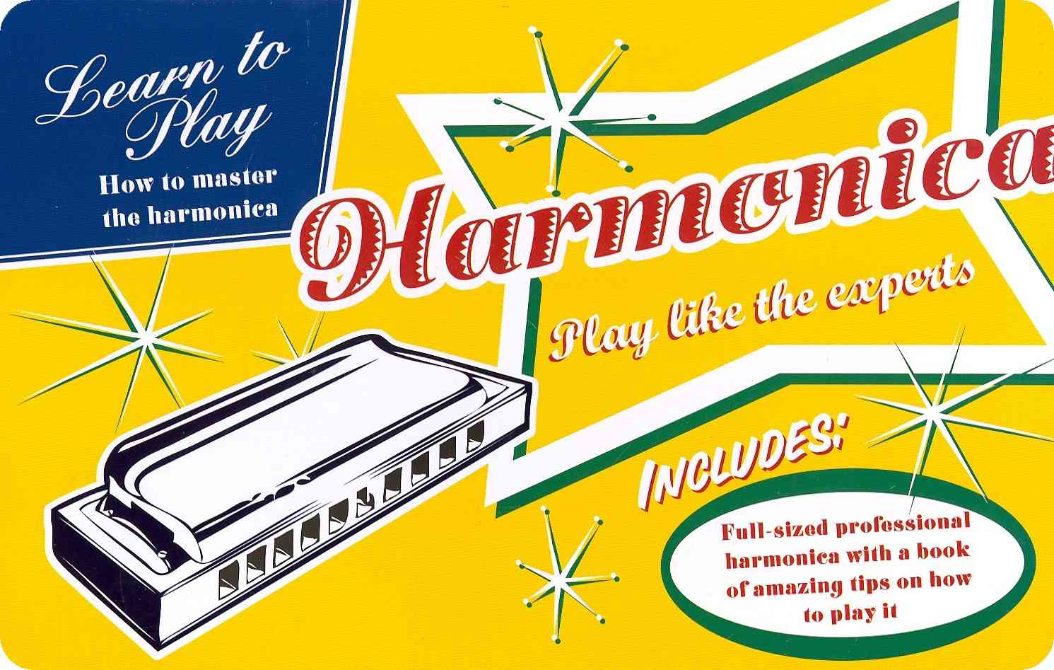 Harmonica: Play Like the Experts (Paperback)