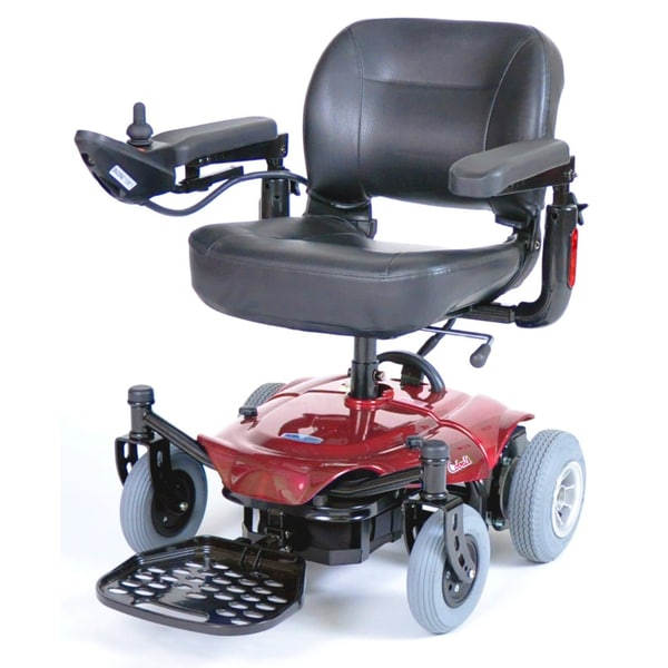 ActiveCare Cobalt Red Travel Power Wheelchair