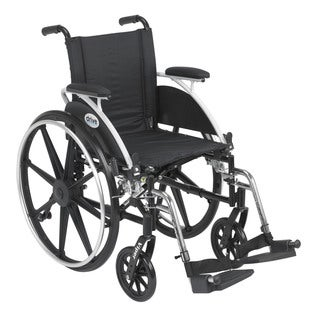 Viper Wheelchair with Flip Back Desk Arms and Front Riggings
