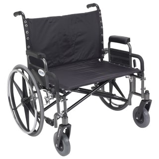 Sentra Heavy Duty Wheelchair with Extra-Large Contoured Armrests