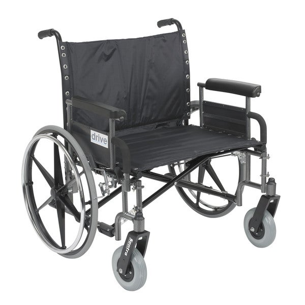 Sentra Heavy Duty Wheelchair with Various Arm Styles