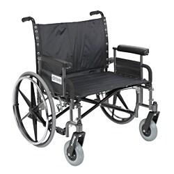 Sentra Heavy Duty Wheelchair with Various Arm Styles