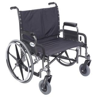 Sentra Heavy Duty Wheelchair with Contoured Plastic Armrests