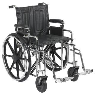 Sentra Extra Heavy Duty Wheelchair with Front Rigging Options