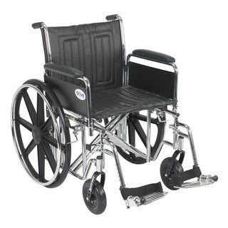 Drive Medical Sentra EC Heavy Duty Wheelchair with Riggings