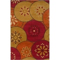 B. Smith Hand-tufted Encinal Multi Wool Rug (2' x 3')