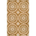 B. Smith Hand-tufted Encinitas Green Wool Rug (2' x 3')