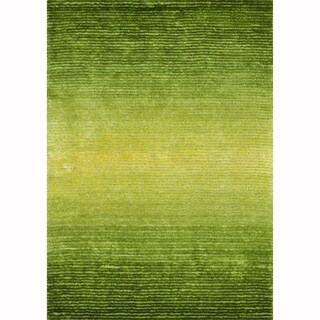 Hand-tufted Josephine Green Rug (7'9 x 9'9)