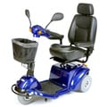 Pilot Blue 3-Wheel Power Scooter