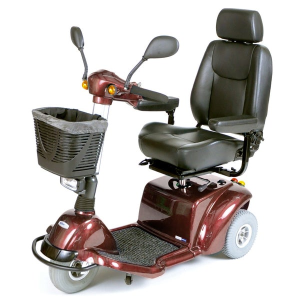 Pilot Red 3-Wheel Power Scooter