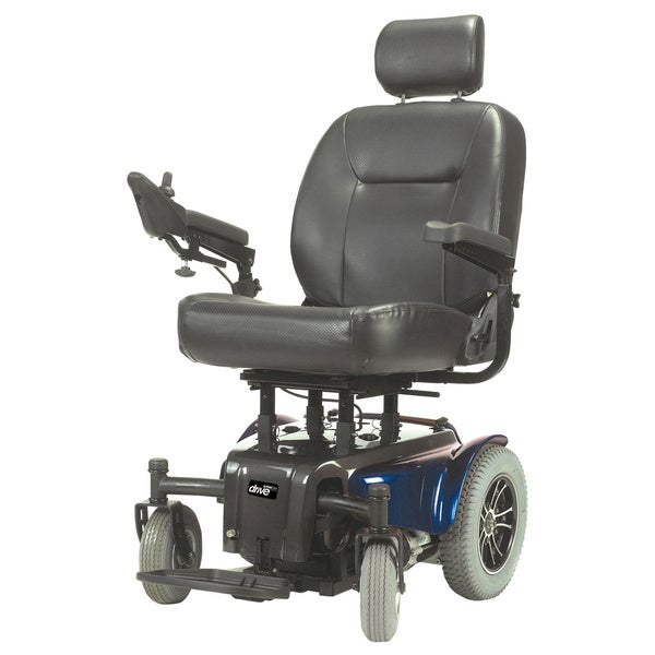 Medalist Heavy Duty Blue Power Wheelchair