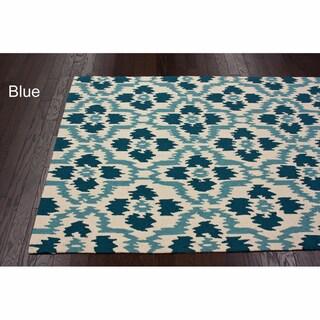 nuLOOM Handmade Trellis Ikat Rug (7'6 x 9'6)