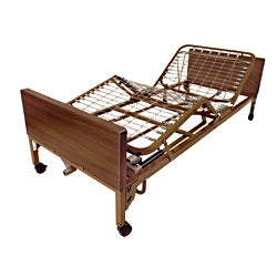 Hand-Controlled Drive Medical Full Electric Hospital Bed