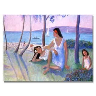 Manor Shadian 'Kihe Shore' Canvas Art