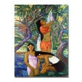Manor Shadian 'Hana Waterfall' Canvas Art