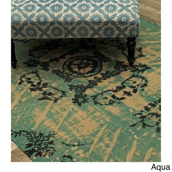 nuLOOM Handmade Overdyed Jute Rug (5' x 8')