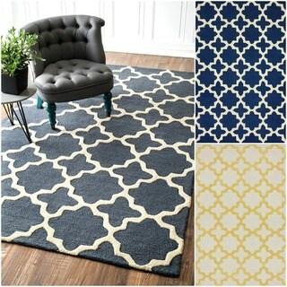 nuLOOM Handmade Marrakesh Trellis Wool Rug (5' x 8')