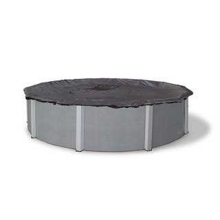 Dirt Defender Round Rugged Mesh Above-ground Pool Winter Cover