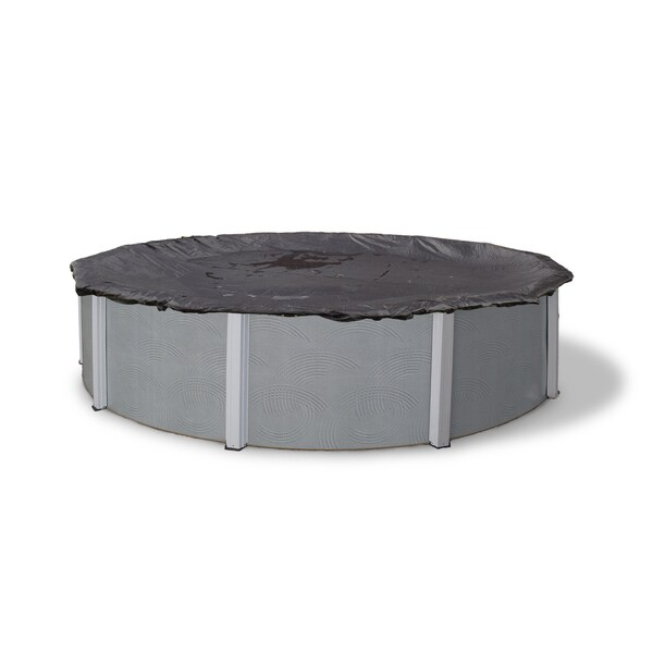 Blue Wave Round Rugged Mesh Above Ground Winter Pool Cover