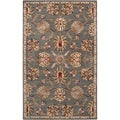 Hand-tufted Karuah Grey Wool Rug (2' x 3')