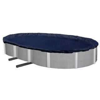 Dirt Defender 8-year Oval Above-ground Pool Winter Cover