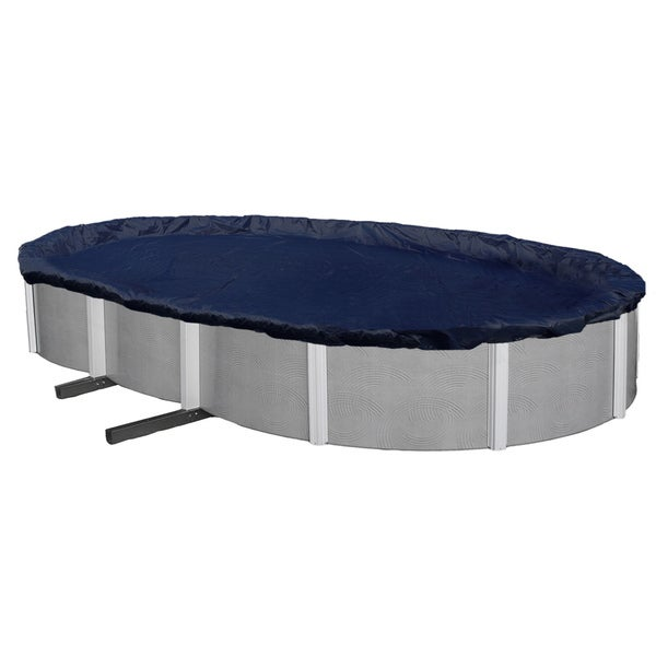 Blue Wave Bronze Series Oval Above Ground Winter Pool Cover
