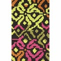 Handmade Groove Multi Abstract Wool Rug (5' x 8')
