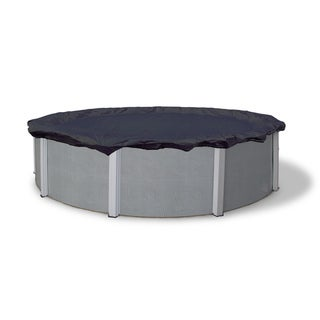Dirt Defender Bronze 8-Year 18-ft Round Above Ground Pool Winter Cover