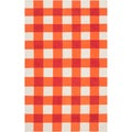 Country Living Hand-woven Lasara Orange Wool Rug (2' x 3')