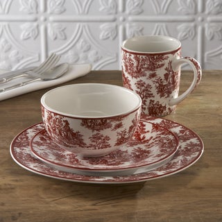 Waverly Country Life 16-piece Dinnerware Set