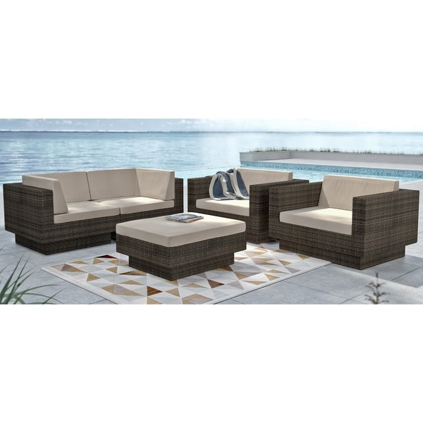 Sonax Park Terrace 5-piece Sectional Patio Set