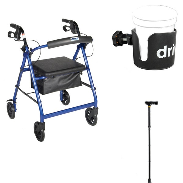 Mobility Safety Solution Rollator Set