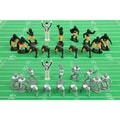 Kaskey Kids Football Guys (Black/Gold vs. White)