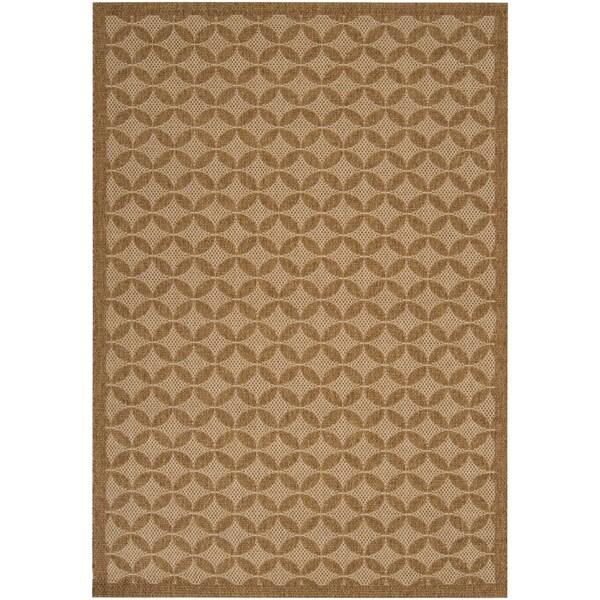 Murillo Tan Indoor/Outdoor Moroccan Tile Rug (2'2 x 3'4)