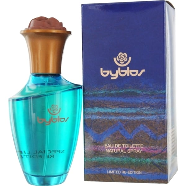 Byblos Women's 3.4-ounce Eau de Toilette Spray (Limited Re-Edition)