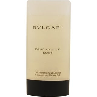 Bvlgari Pour Homme Soir Men's 6.7-ounce Shampoo and Shower Gel