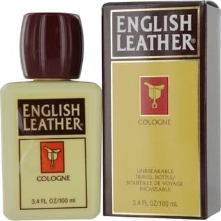 Dana English Leather Men's 3.4-ounce Cologne (Plastic Travel Bottle)